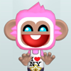 Pink Monkey Dress Up